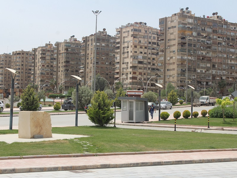 K dispozici kompletní plány obřího developerského projektu v Damašku