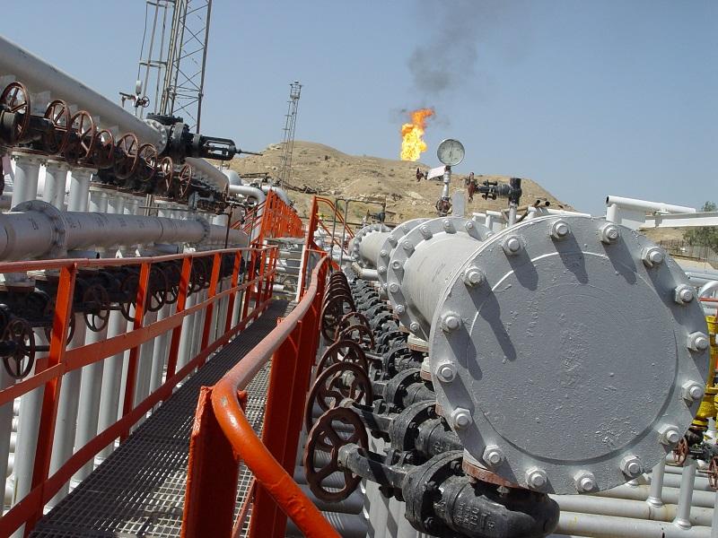 Nárůst těžby fosilních paliv v důsledku postupu syrského vojska