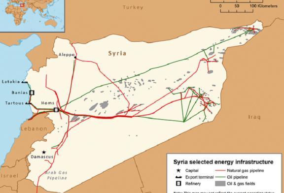 Přehled hlavních těžišť zemního plynu a podniků návazného zpracování