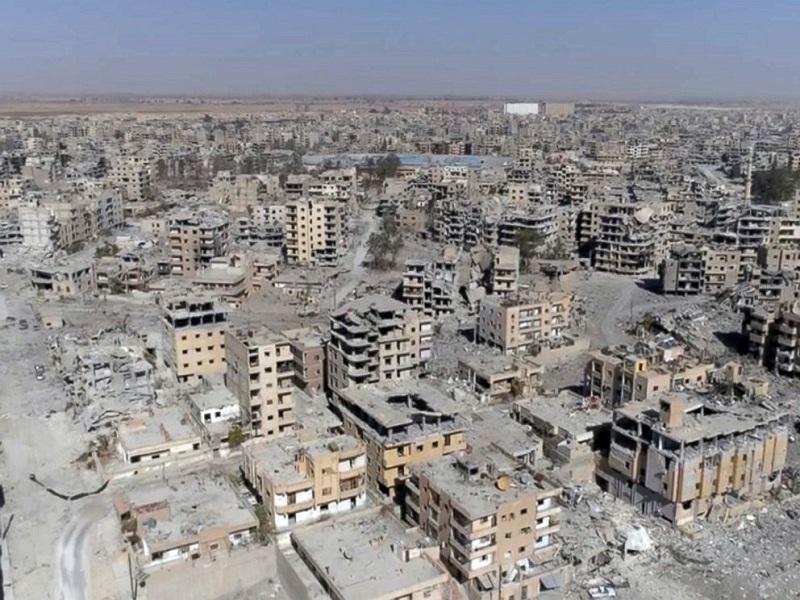 Obnova zdevastované Raqqy bude velmi nákladná
