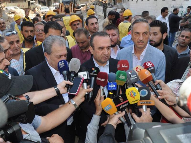 Syrská vláda diskutuje komplexní dlouhodobou strategii pro obnovu země