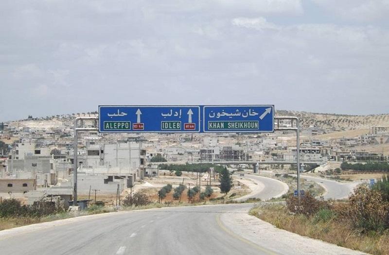 Otevření přechodu na dálnici Damašek-Aleppo