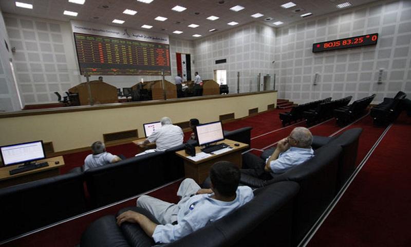 Damašská burza zaznamenala rekordní objem obchodování