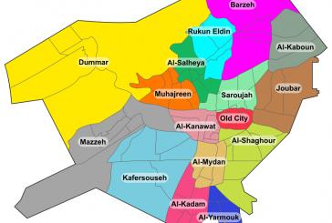 Damašek: pokrok ve výstavbě rezidenční čtvrti