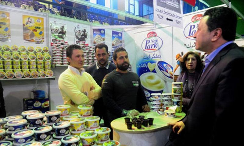 V roce 2018 budou syrskému exportu dominovat produkty potravinářského průmyslu