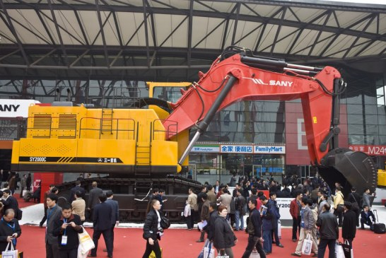Čínská společnost SANY se etabluje v Sýrii