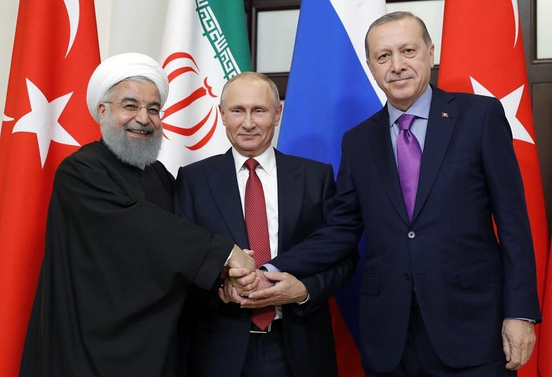 V Soči proběhla mírová konference o Sýrii
