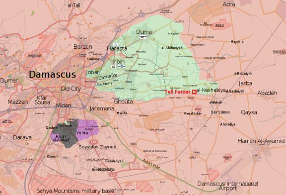 Nabízíme přehledné analytické komentáře k vývoji situace ve Východní Ghútě