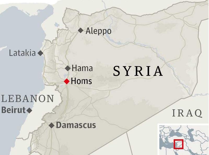 Postupná obnova guvernorátu Homs