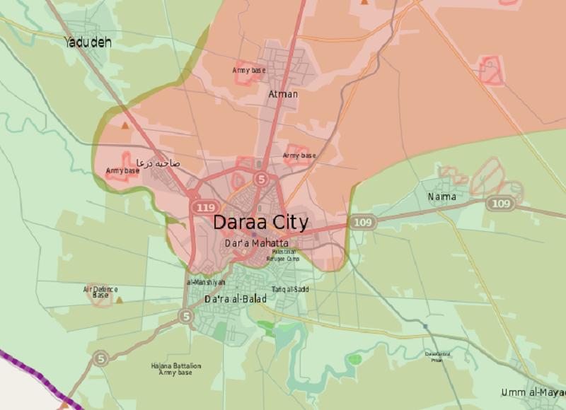 Sýrie: změna taktiky při pacifikaci Dar´á – příprava na idlibské finále?