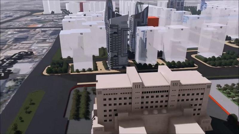 Aman Damascus zahájila práce v projektu Marotta City
