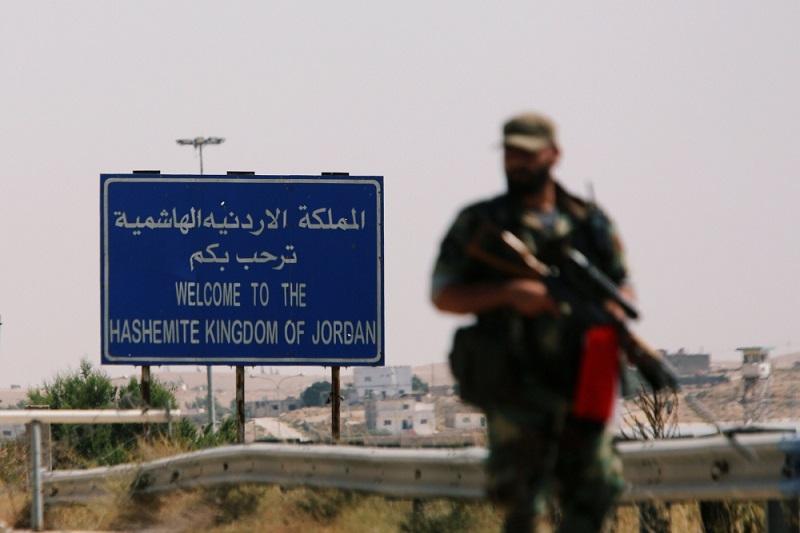 Jordánské kamiony čekají na otevření hranic