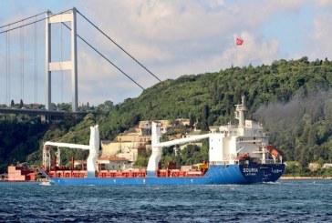 Syrská loď po letech proplula skrz turecký Bospor