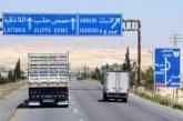 Získání kontroly nad dálnicí M5: oživení logistické tepny Sýrie